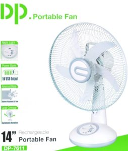 Best 5 Rechargeable Fans in India 2018