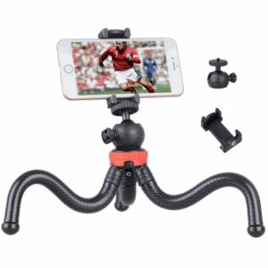 SoloFlix High Quality Gorillapod Tripod with Flexible Stand