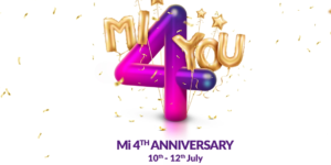 Xiaomi Mi anniversary sale from July 10: 55-inch Mi LED Smart TV and Mobile phones for RS 4!!