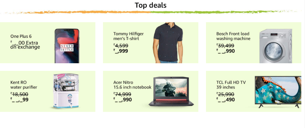 Amazon Freedom Sale from August 9th: 20000+ Deals and Offers